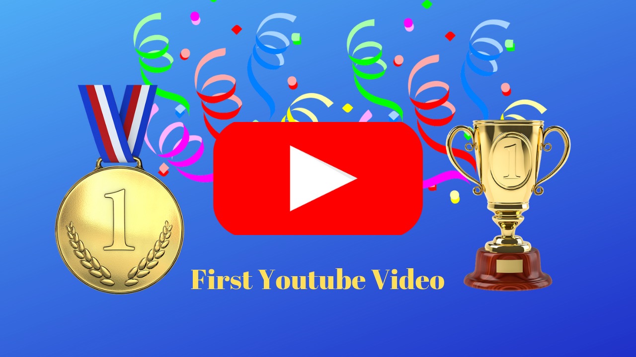 It shows celebration for having the first youtube video of Ahealth fitness blog